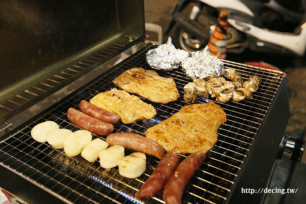 【台南美食】鴻綺水產:中秋限定海鮮烤肉組,直接宅配到府,烤肉不求人
