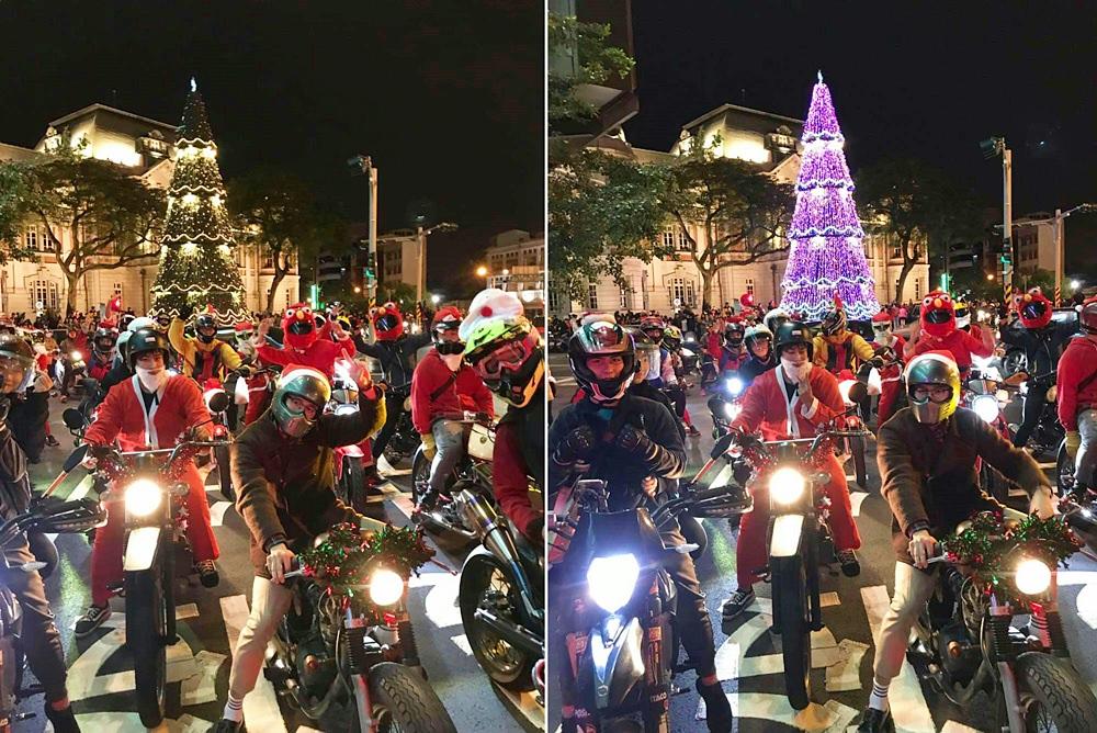 【台南活動】台南聖誕快閃夜騎活動,12/24當晚限定!快來一起快閃過聖誕~