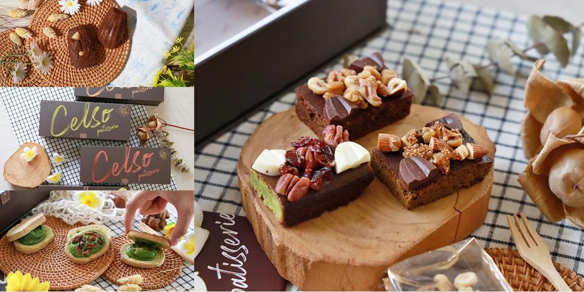 【台南甜點】2021最美的法式甜點禮盒!低糖高蛋白,就連健身教練也超愛~達克瓦茲、布朗尼、瑪德蓮讓你一次獲得:Celso Pâtisserie 漫步左岸法式甜點
